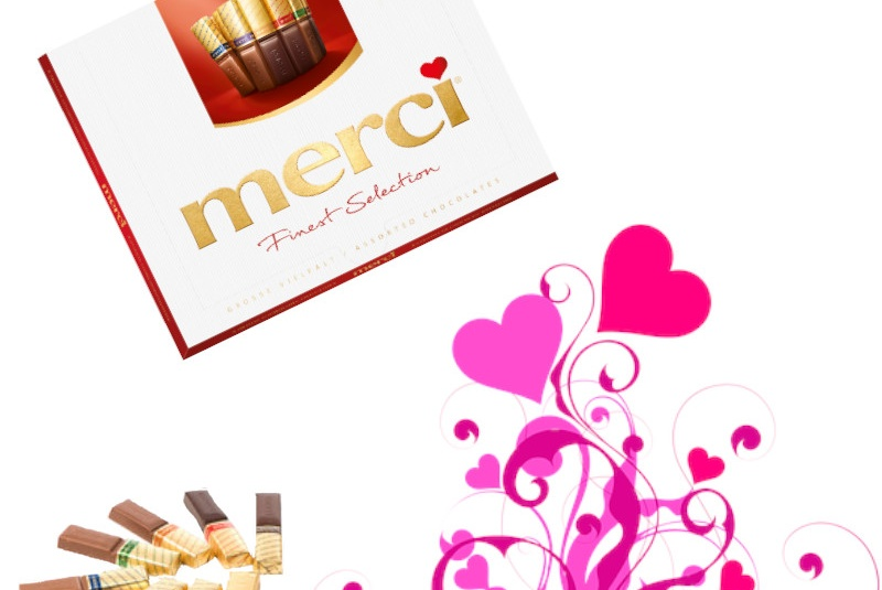 Akcie / Merci Finest selection mix 250g - foto